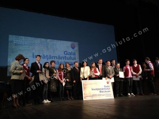 Gala Învățământului Băcăuan, ediția 2012