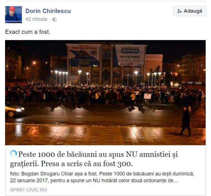 Chirilescu Facebook