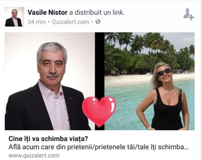 Vasiole Nistor a descoperit internetul