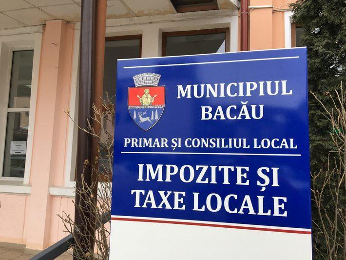 Logo nou la Taxele Locale Bacău