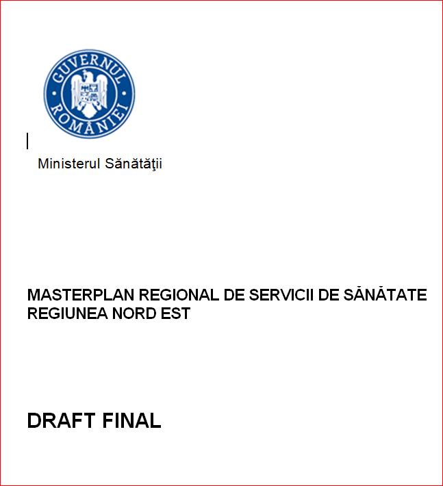 masterplan Ministerul Sanatatii