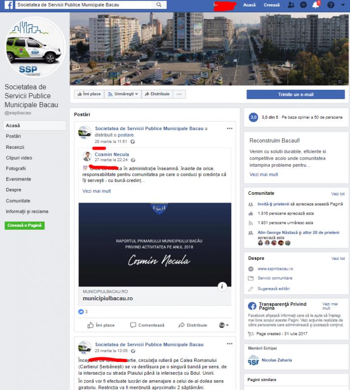 facebook sspm bacau